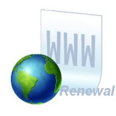 Annual renewal of your Domain Name